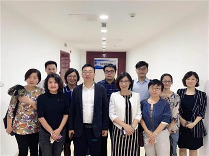 民生加银资产管理有限公司赴民生天津分行交流座谈