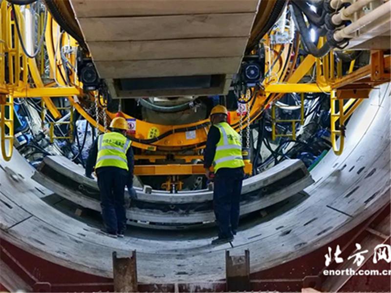 <b>天津地铁6号线二期工程正式进入盾构施工阶段</b>