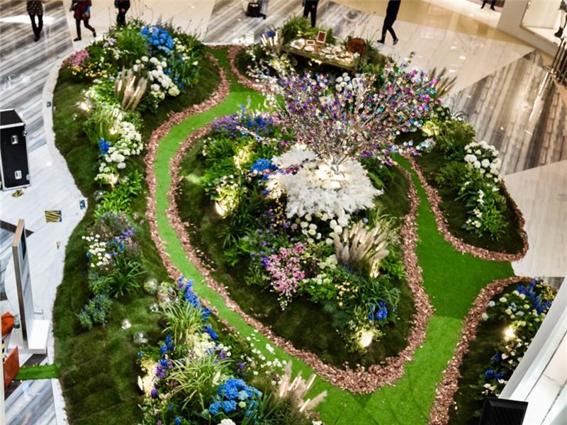 天津大悦城5月花样百出释放自然力 喜悦・新生花植空间展倾城来袭