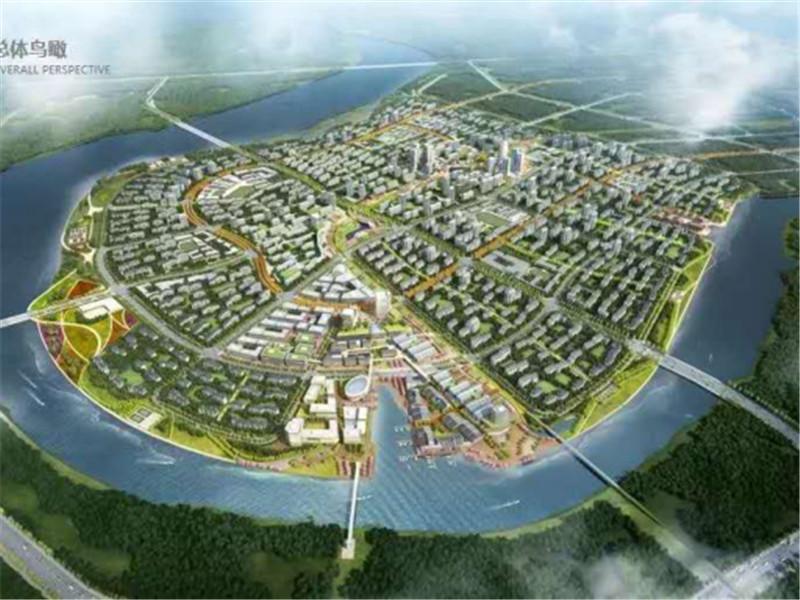 中新天津生态城北岛片区路网建设全面启动