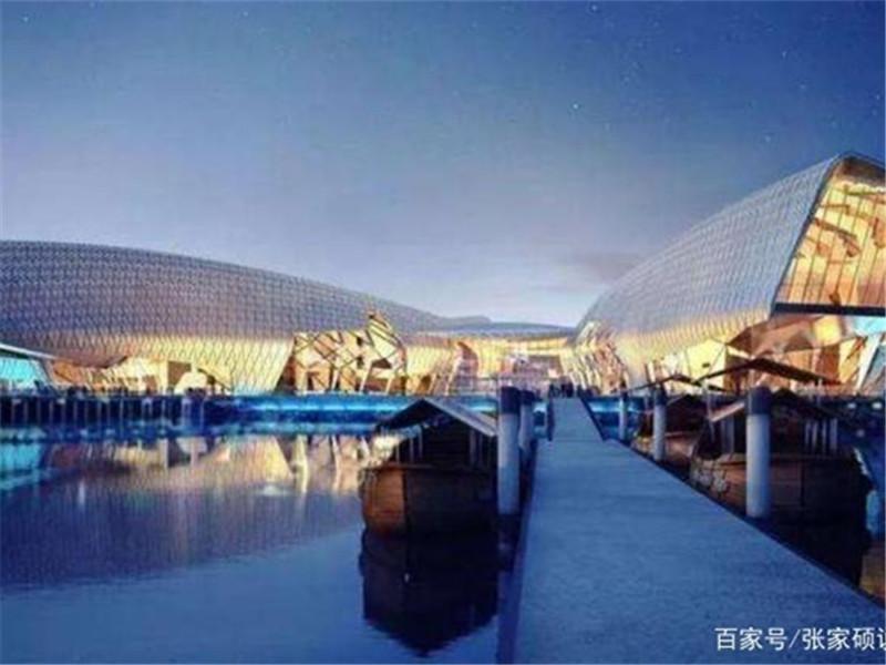 """天津再现惊奇建筑,被称""""海上故宫"""",有望替代""""天津之眼"""""""