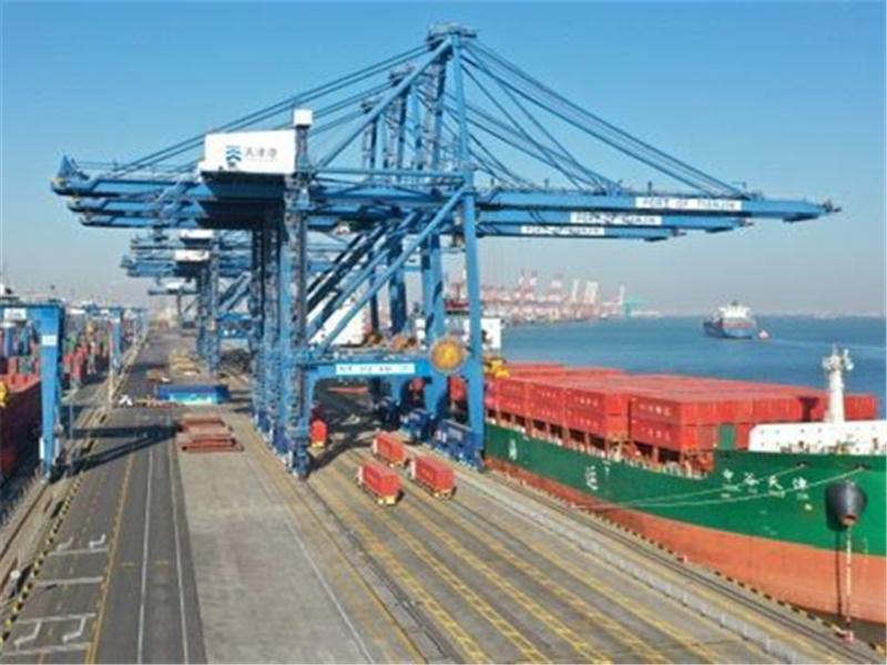 全球首创传统集装箱码头全流程自动化,升级改造项目在天津港全面运营