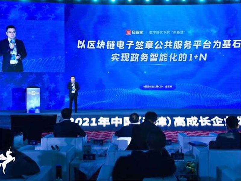 2021年中国高成长企业发布会在天津举行